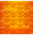 Orange Abstract background geometry pattern vector image