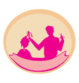 hairstylist icon vector image