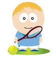 tennis vector image vector image
