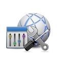 Screwdriver spanner vector image