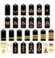 Canadian Army insignia vector image vector image