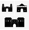 Gateways vector image vector image
