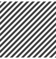 Diagonal lines pattern vector image vector image