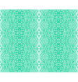 seamless lace mint color vector image vector image