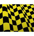 checked flags vector image vector image
