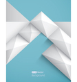 Realistic geometrical background with pyramids vector image