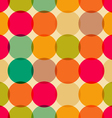 Circles pattern vector