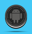 new mobile operating system android oreo vector image