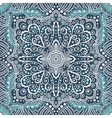 seamless blue pattern of spirals swirls vector image vector image