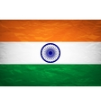 National flag of India with correct proportions vector image
