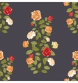 Wallpaper with roses vector image