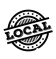 Local rubber stamp vector image