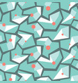 geometric memphis style modern seamless pattern vector image