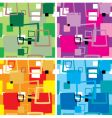seventies square multi vector image