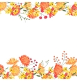Detailed contour square frame with gerbera and vector image