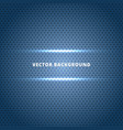 abstract carbon fiber surface with blue light vector image