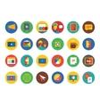 Webinar Icons Set Learn Education or vector image