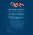 United States of America Copy vector image vector image