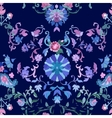 Watercolor Paisley Seamless Background Cold vector image