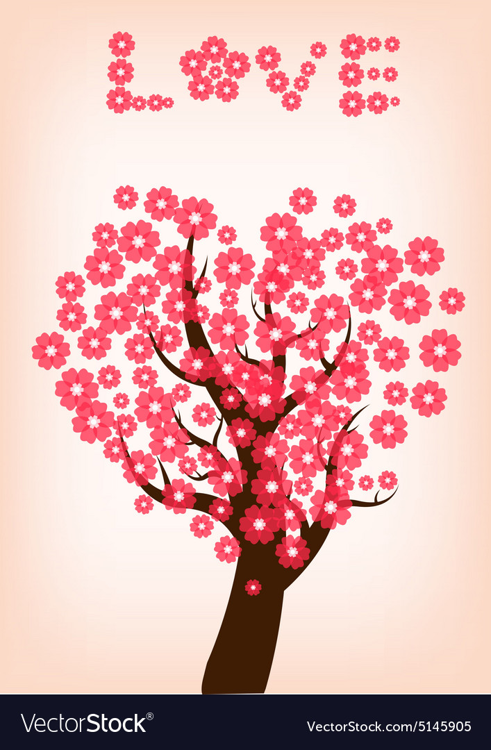 Cherry blossom 1 vector