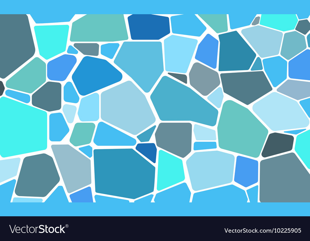 Pattern stone wall vector
