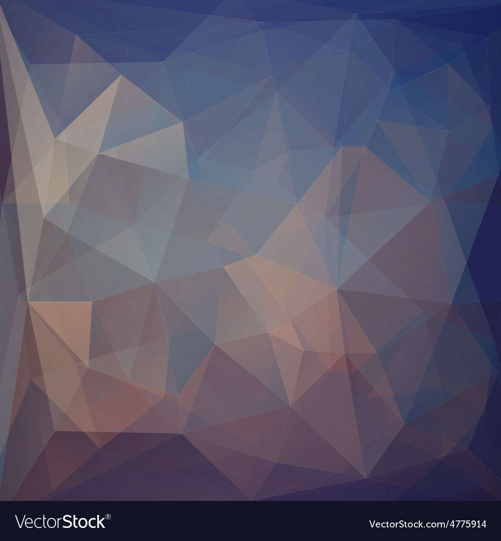 Colorful abstract triangular geometric vector