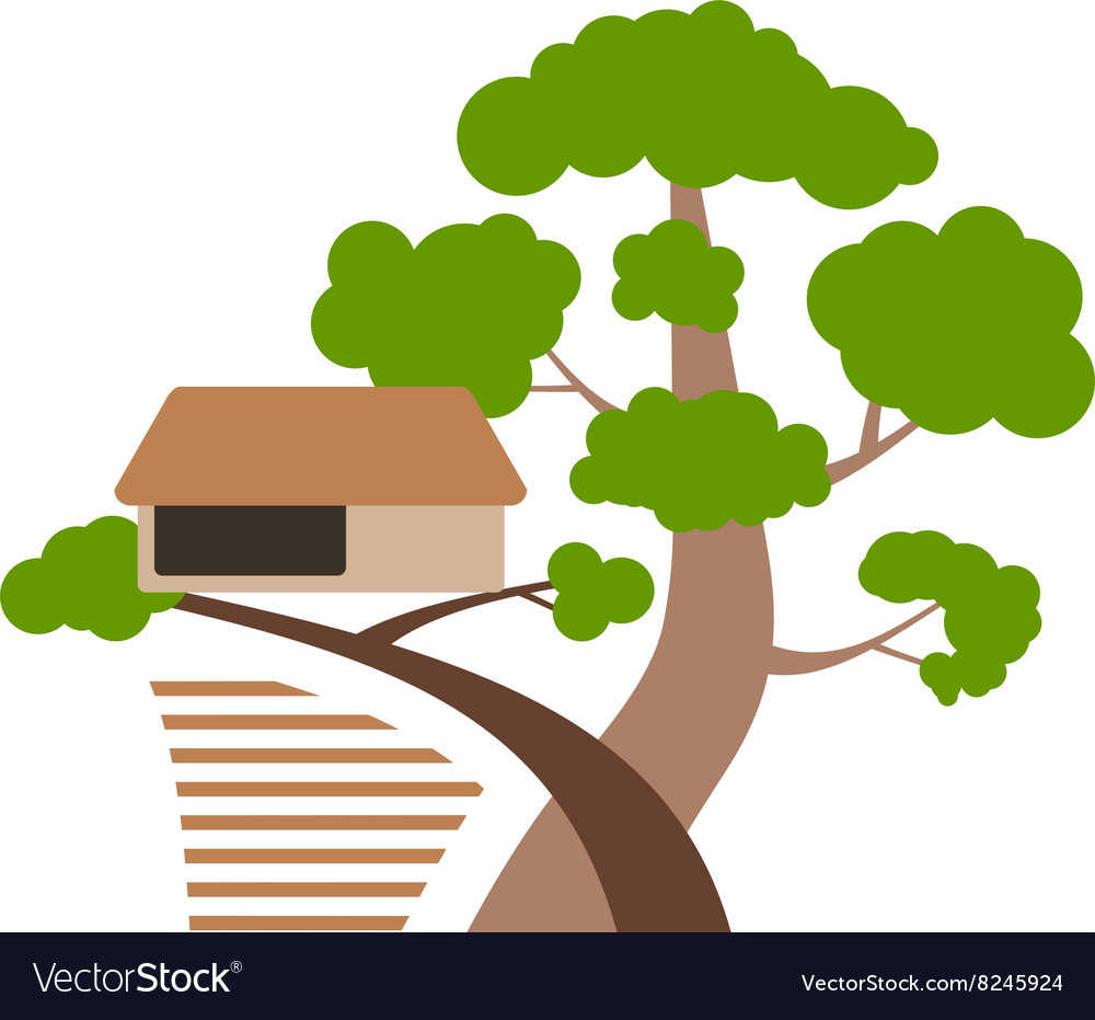 Houseontree380x400 vector