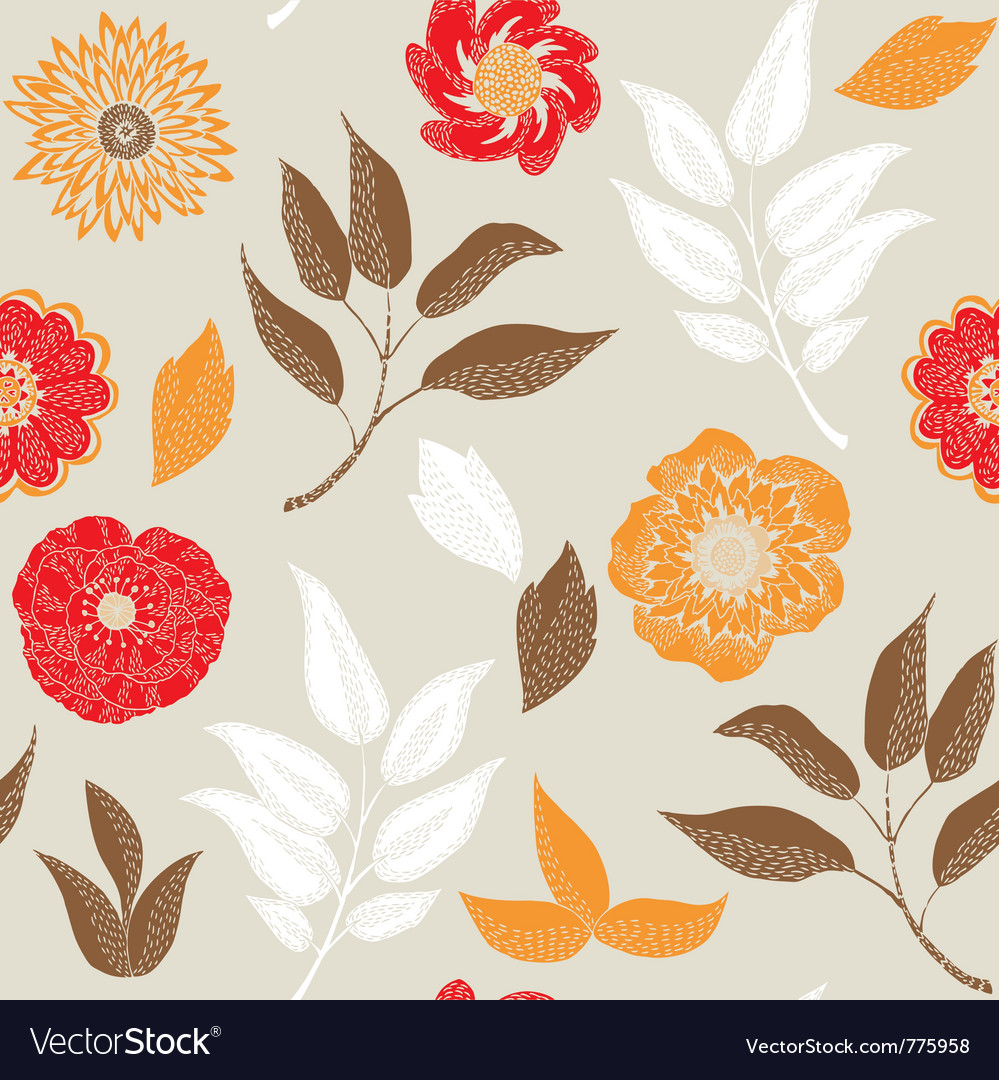 Autumn prints vector