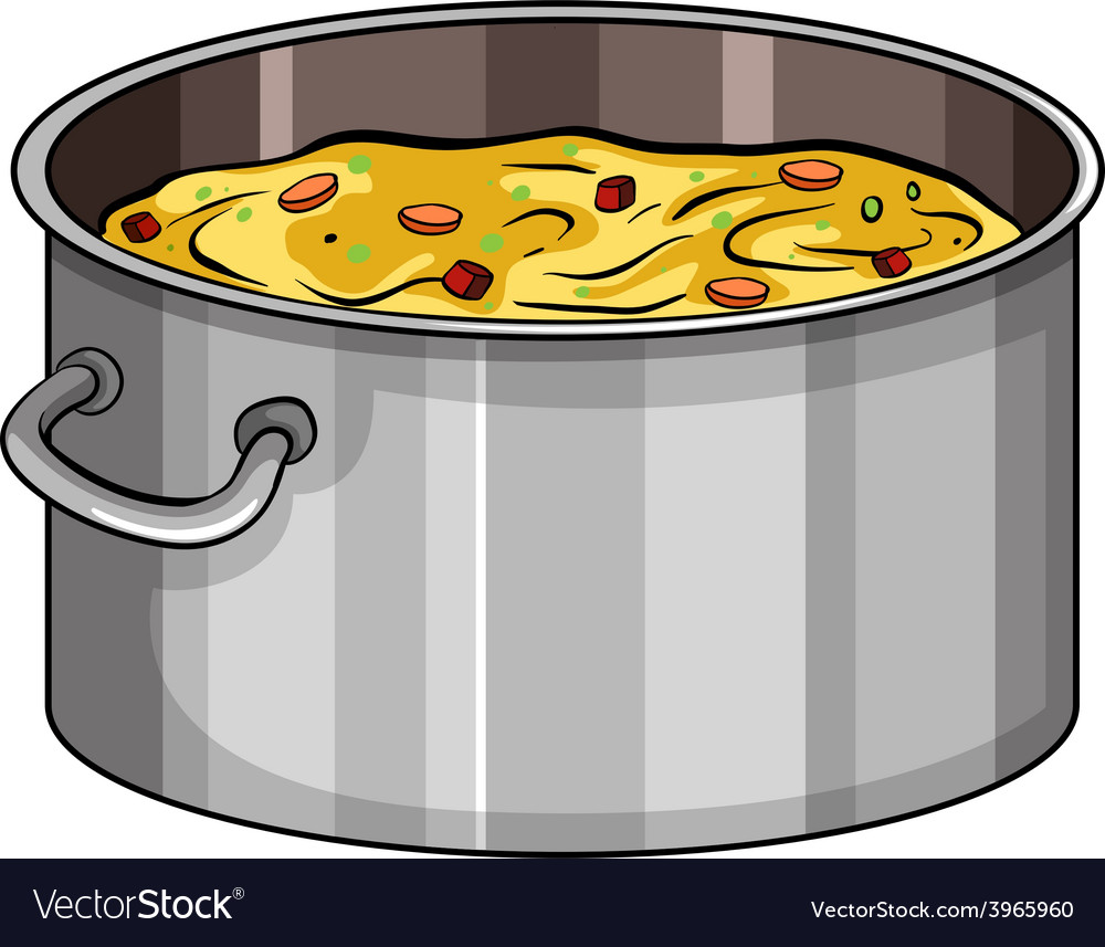 Too many cooks idiom vector
