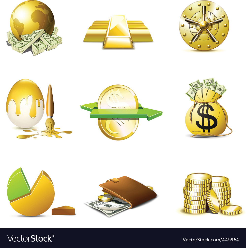 Money icons  bella series vector