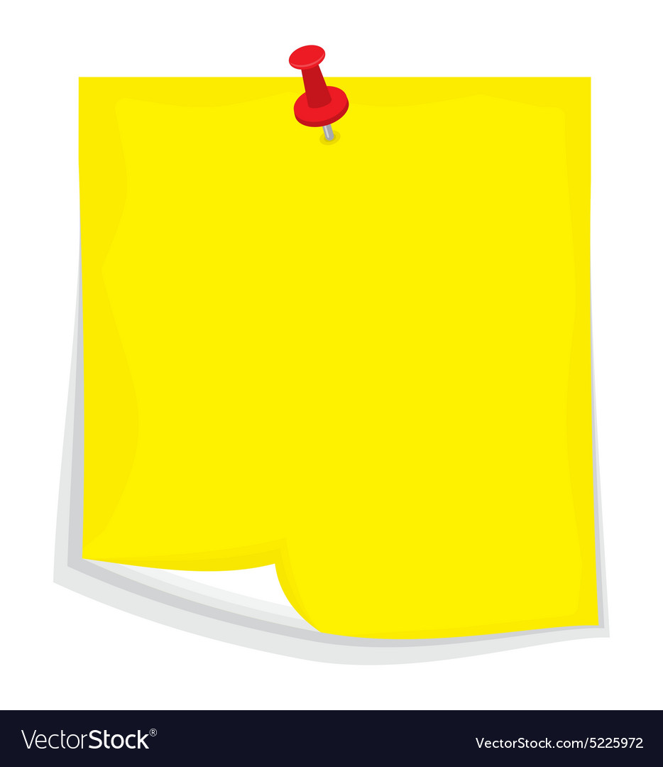 Sticky note4 resize vector