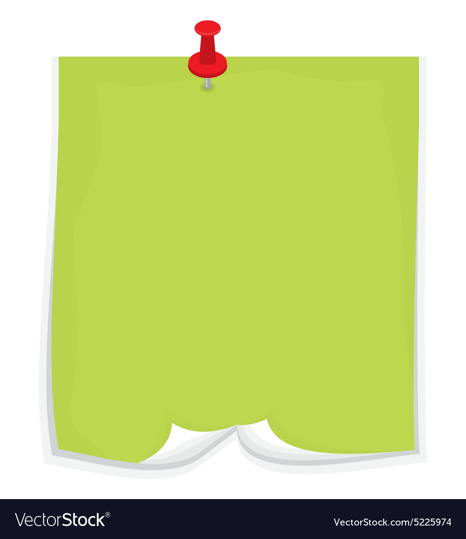 Sticky note5 resize vector