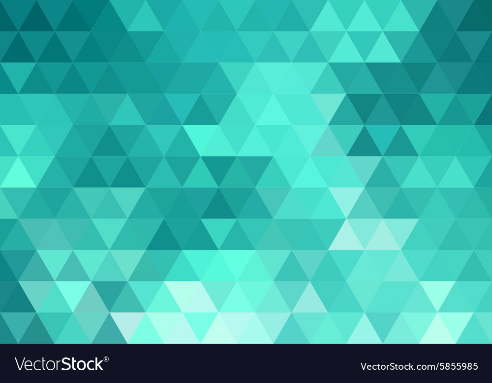 Abstract teal geometric background vector