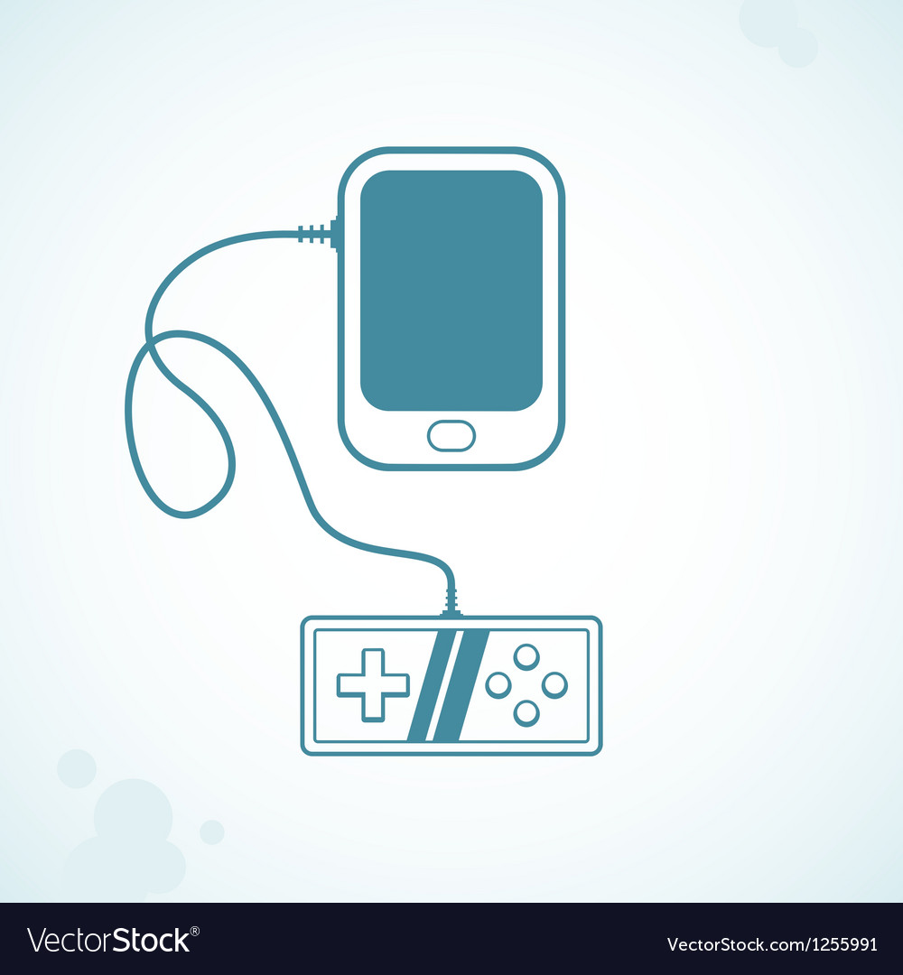 Games for mobile phone vector