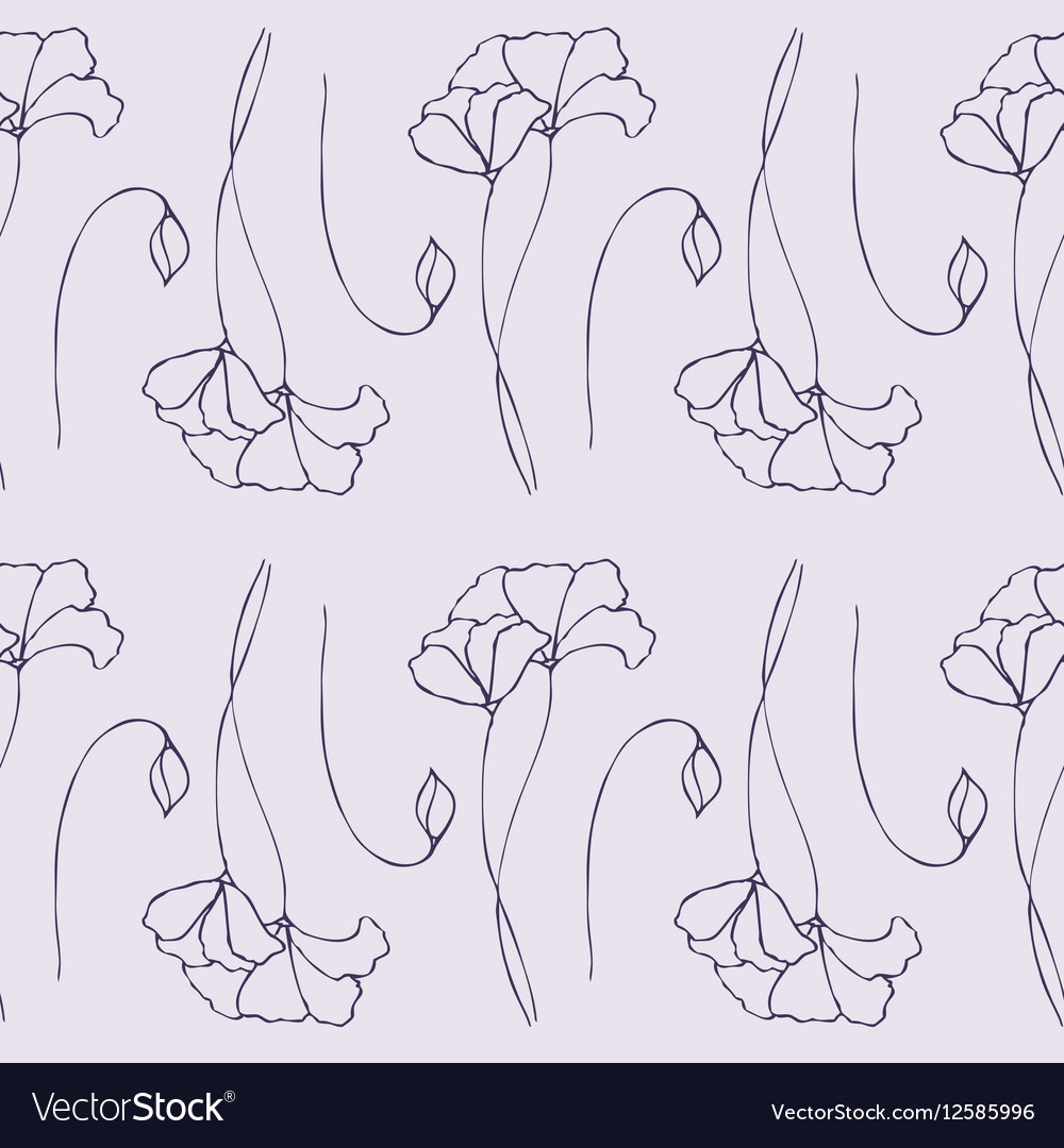 Vegetable color pattern vector