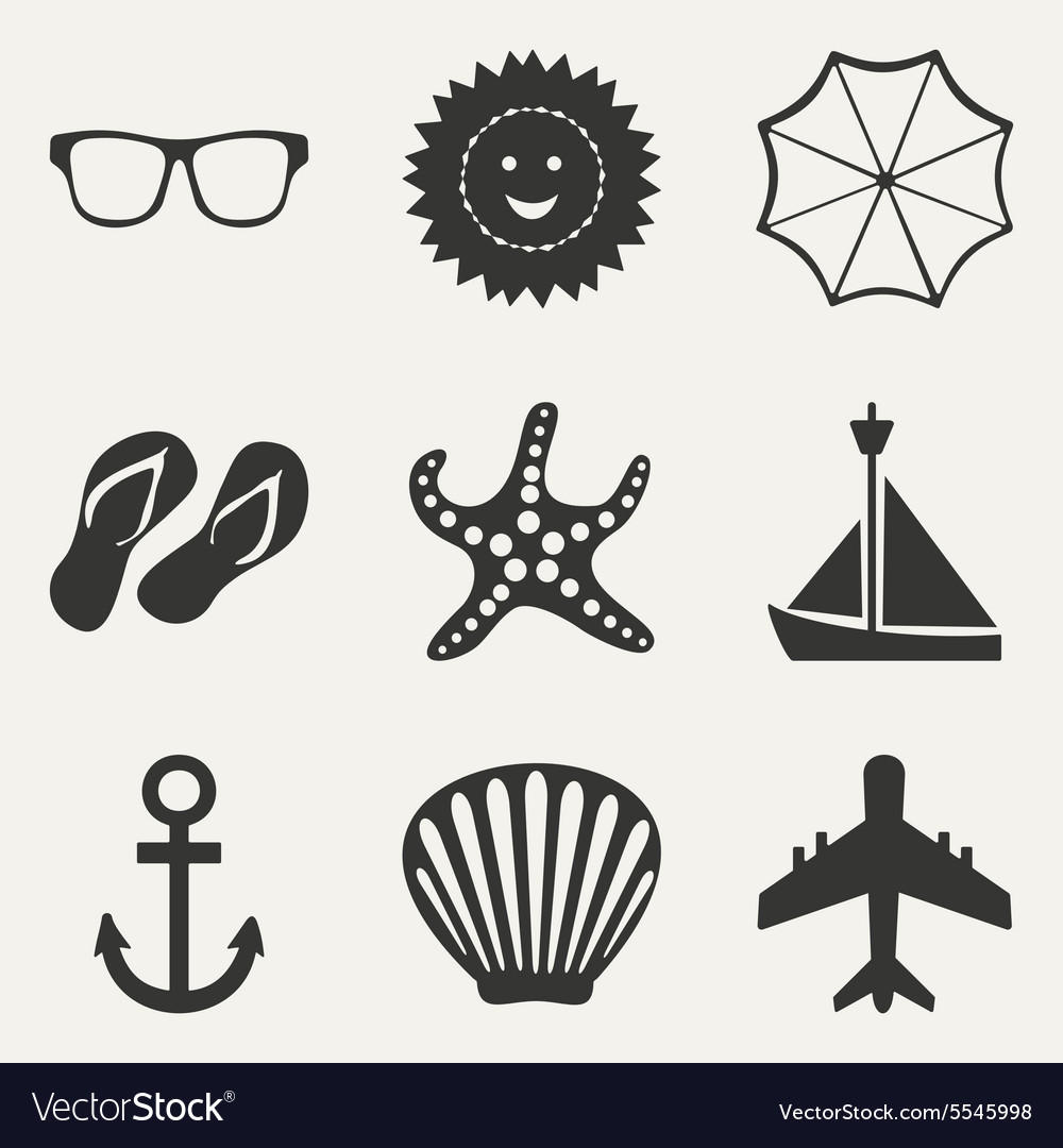 Flat in black and white concept mobile application vector