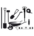 tools for building vector image vector image