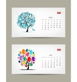 calendar 2015 march and april months Art vector image vector image
