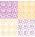 geometric seamless pattern arabic ornament style vector image
