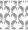 ocean turtle seamless pattern vector image