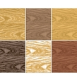 wooden patterns vector image