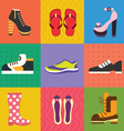 Shoes for all occasions vector image