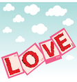 love stamps vector image
