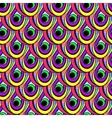 Bright colored seamless pattern vector image