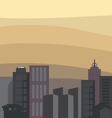 cityline1 resize vector image