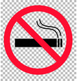 no smoking sign transparent background no smoking vector image