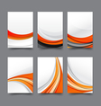 Abstract background collection of curve wave vector image