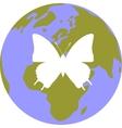 Earth globe set 002 vector image