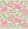 elegant floral seamless pattern for wrapping paper vector image