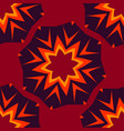 seamless abstract pattern for childs clothes red vector image